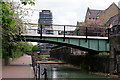 TQ3480 : Wapping Western Dock Canal by Peter Trimming