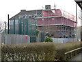 SO8754 : Worcestershire Royal Hospital - demolition site by Chris Allen