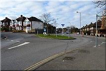 TQ1967 : Roundabout, Surbiton Hill Park by N Chadwick