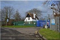 TQ1968 : Hogsmill Clean Water Depot (Sewage Works) by N Chadwick