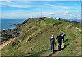 NT4699 : The Fife Coastal Path At Kincraig by Mary and Angus Hogg