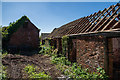 SK3614 : Old agricultural buildings at Hall Farm, Packington by Oliver Mills