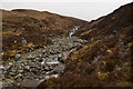 NC3934 : Allt a' Choire Chruiteir watercourse, Sutherland by Andrew Tryon