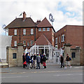 SK5837 : Trent Bridge: eager for cricket by John Sutton
