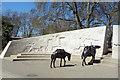 TQ2780 : Animals in War by Des Blenkinsopp