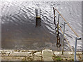 SE3041 : Eccup reservoir - drawdown gauge by Stephen Craven