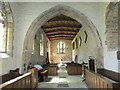 NZ1114 : St. Mary's church, Wycliffe, interior looking west by Jonathan Thacker