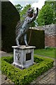 TQ5244 : Penshurst Place: Robert Rattray's porcupine statue 3 : Week 19