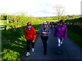 H4365 : First Omagh Church Walking Group at Kiltamnagh by Kenneth  Allen