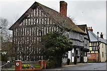SO3958 : Pembridge, East Street: Fine half timbered house by Michael Garlick