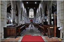 SO3958 : Pembridge, St. Mary the Virgin Church: The nave from the chancel by Michael Garlick