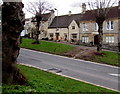 SP2512 : Trees and houses, The Hill, Burford by Jaggery