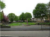 SJ3350 : Dissenters' Burial Ground, Rhosddu Road, Wrexham by A Jones