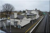 TR2353 : Station House, Adisham Station by N Chadwick