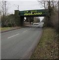 SK1000 : Low railway bridge near Blake Street railway station, Hill Hook, Sutton Coldfield by Jaggery