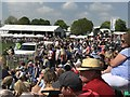 ST8083 : Crowds by the lake on cross-country day at Badminton by Jonathan Hutchins