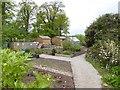 SD2877 : Kitchen garden at Swarthmoor Hall by Oliver Dixon