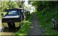 SJ7923 : Shropshire Union Canal milepost near Norbury by Mat Fascione