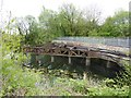 SD3078 : Old railway bridge over the Ulverston Canal by Oliver Dixon