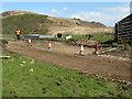 NR6690 : Roadworks at Lealt by M J Richardson