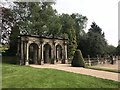 SJ8640 : Loggia and balustrades in Trentham Gardens by Jonathan Hutchins