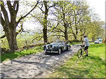 SD9772 : Tour de Yorkshire - Jowett car by Stephen Craven