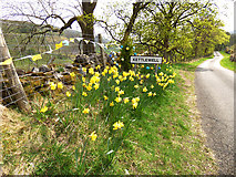 SD9772 : Tour de Yorkshire - Welcome to Kettlewell by Stephen Craven