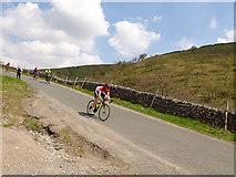 SD9774 : Cyclists descending Park Rash by Stephen Craven