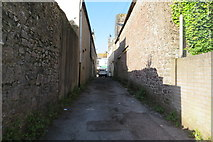 SX9265 : Hampton Lane towards Fore Street, St. Marychurch by John C