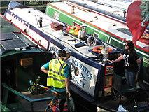 TQ2681 : Rachel, narrowboat, Little Venice Canalway Cavalcade by David Hawgood