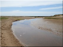 SD1578 : Channel on Haverigg Bank by Oliver Dixon
