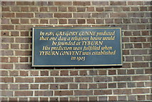 TQ2780 : Tyburn Convent (2) by Anthony O'Neil