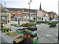 SK0933 : Uttoxeter, street market by Mike Faherty