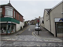 ST1599 : No Entry sign, Capel Street, Bargoed by Jaggery