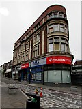 ST1599 : Four-storey building in Bargoed town centre by Jaggery