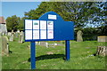 TG4802 : All Saints Church Notice Board by Adrian Cable