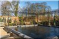 NU1913 : Ornamental Garden, The Alnwick Garden by Ian Capper