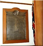 TG2407 : WW2 memorial in Carrow House by Evelyn Simak