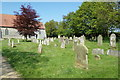 TG4802 : All Saints Churchyard by Adrian Cable