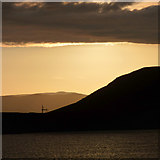 NS2472 : Loch Thom sunset by Thomas Nugent