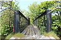 NS2300 : Footbridge over the Water of Girvan by Billy McCrorie