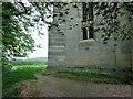 SE8165 : O/S  Bench  Mark  on  St  Mary's  parish  church  Birdsall by Martin Dawes