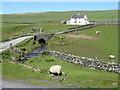 NR2060 : The Abhainn na Braid passing under the road to Kilchiaran by M J Richardson