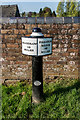 SJ9131 : Middle Mile Marker on the Trent & Mersey Canal by Brian Deegan