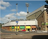 TG2407 : The Carrow Road football stadium by Evelyn Simak
