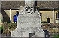 SP3007 : War Memorial (2) - inscription, Station Road, Brize Norton, Oxon by P L Chadwick
