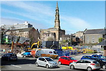 NS2776 : Scottish Water excavation, West Shaw Street by Thomas Nugent