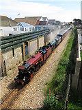 TR0821 : RHDR at Derville Road bridge by Gareth James