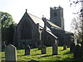 NU2322 : Holy Trinity church, Embleton by David Purchase