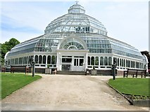 SJ3787 : Palm House, Sefton Park, Liverpool by G Laird